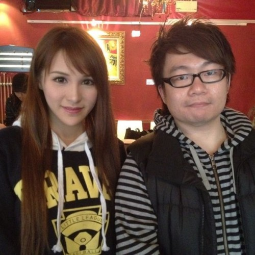 2012/02/17 陳靜儀 Mia Chan visited Van Gogh Kitchen