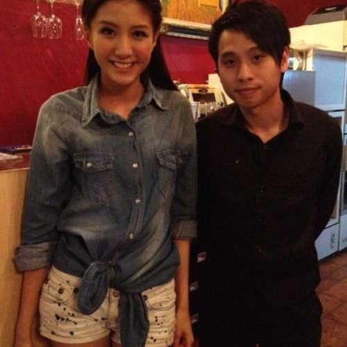 2012/03/30 陳嘉桓 Rose Chan visited Van Gogh Kitchen
