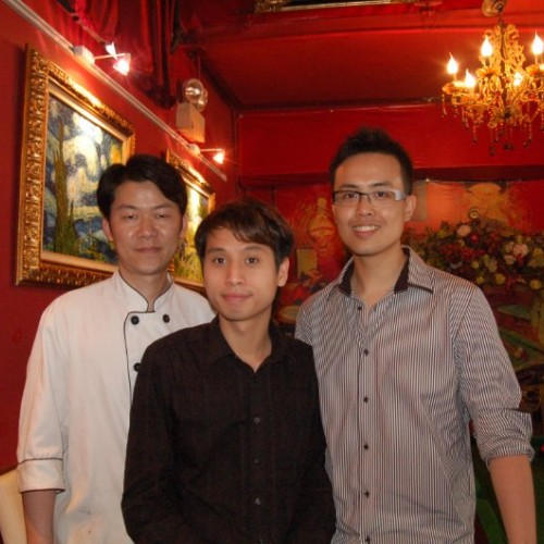 2010/05/21 傅家俊 Marco Fu visited Van Gogh Kitchen
