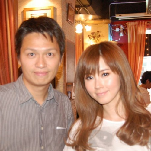 2010/06/21 傅穎 ThErEsA Fu visited Van Gogh Kitchen