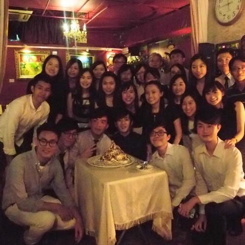 2017/05/07 香港中文大學生物醫學工程今屆因畢業生 Party at Van Gogh Kitchen