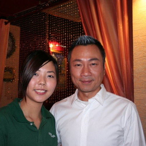 2008/12/12 Wayne Lai 黎耀祥 Interview at Van Gogh Kitchen